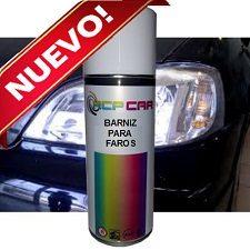 Spray Barniz para faros