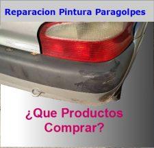 REPARAR PINTURA PARACHOQUES